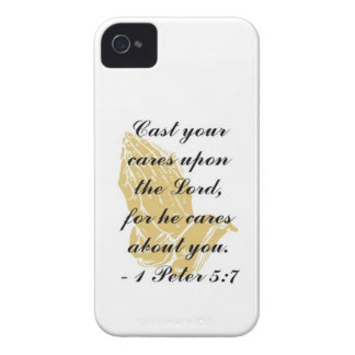 I Peter 5:7 iPhone 4, 4s Shell iPhone 4 Covers