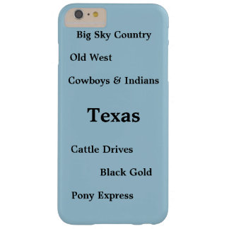 I Phone 6 Case Barely There with Texas Old West Barely There iPhone 6 Plus Case