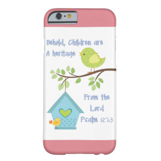 I PHone 6 Cover with Bible Verse Psalm 127  3