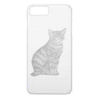 i Phone 7 Plus, Barely Black and White iPhone 8 Plus/7 Plus Case