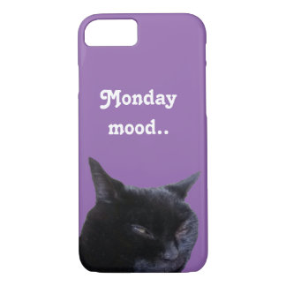 i-Phone Case-Mate cat monday mood by Billy Bernie iPhone 7 Case