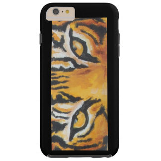 i phone case with tiger eyes.