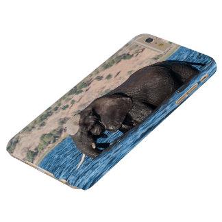 I phone S6 Protective Case Elephant Swimming
