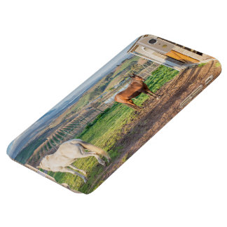 I phone S6 Protective Case with Horses on Farm
