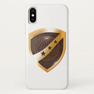 i Phone X Case White Shield