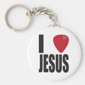 I Pick Jesus Basic Keychain