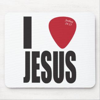 I Pick Jesus Mouse Pad