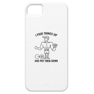 I Pick Things Up Barely There iPhone 5 Case