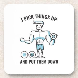 I Pick Things Up Coaster