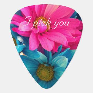 I pick you - flowers plectrum