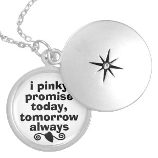 I pinky promise Necklace
