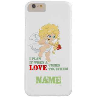 I Plan It When A LOVE Comes Together! Barely There iPhone 6 Plus Case
