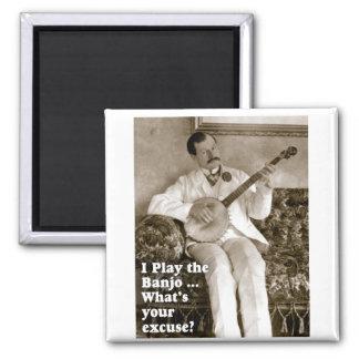 I Play Banjo ... Magnet