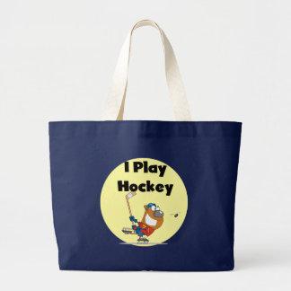 I Play Hockey Tshirts and Gifts Bags