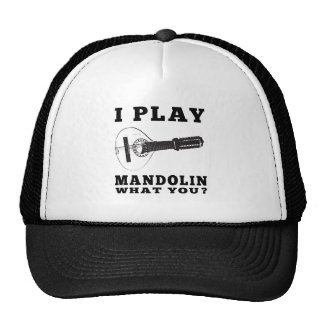 I Play Mandolin Cap