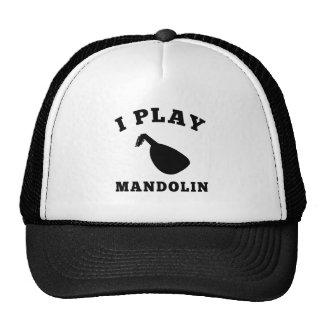 I Play Mandolin Trucker Hat