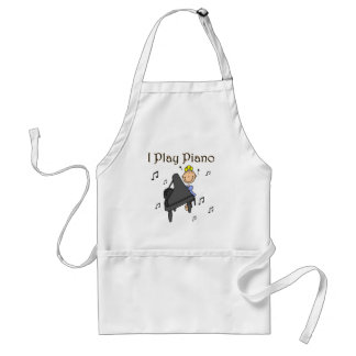 I Play Piano T-shirts and Gifts Aprons