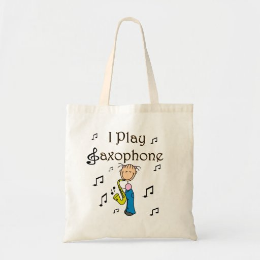 I Play Saxophone T-shirts and Gifts Canvas Bag