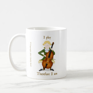 I Play Therefore I Am Mugs