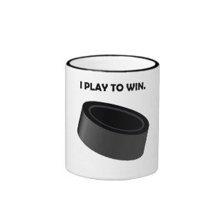I Play To Win (Hockey) Mugs