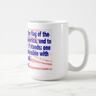 I pledge allegiance coffee mug