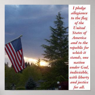 I pledge allegiance print