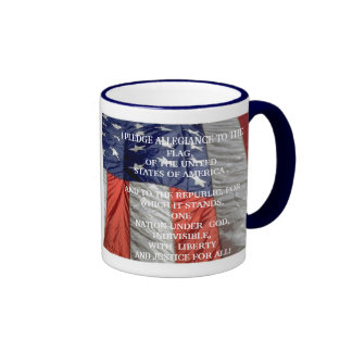 I PLEDGE ALLEGIANCE TO THE  Flag - Mug