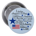I pledge Allegiance to the flag of the United Button