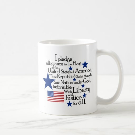I pledge Allegiance to the flag of the United Coffee Mug