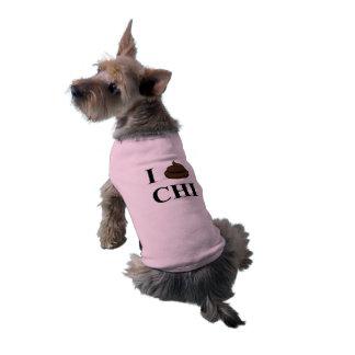 I Poop On Chicago Doggy Sleeveless Dog Shirt
