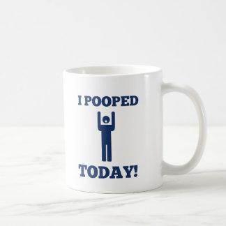 I Pooped Today Coffee Mug