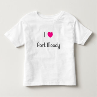 I 💖 Port Moody Toddler T-Shirt