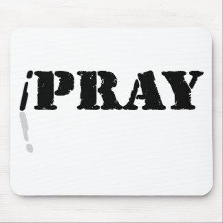 I Pray Mouse Pad