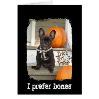 I Prefer Bones Card