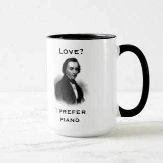 """""""I prefer piano"""" Mug"""