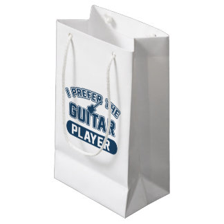 I Prefer The Guitar Player Small Gift Bag