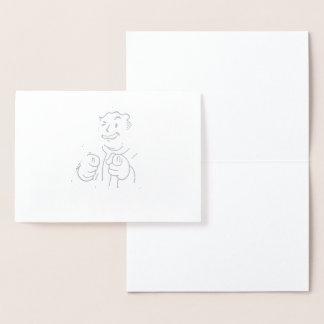 I Probably Hate You Foil Card