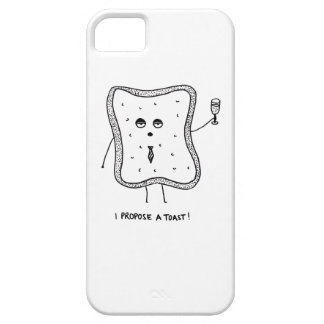 I Propose a Toast iPhone 5 Covers