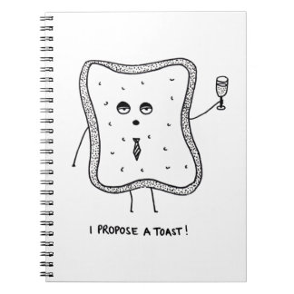 I Propose a Toast Notebooks