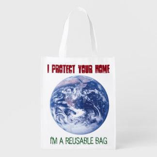 I protect your Home - I'm a Reusable Bag