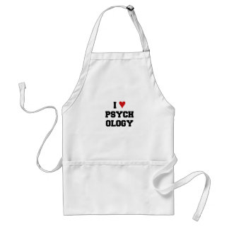 I ♥ PSYCHOLOGY STANDARD APRON