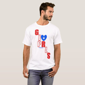 I ❤ Puerto Rican Girls by itbepoetry T-Shirt