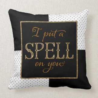 I Put a Spell on You - Halloween Cushion