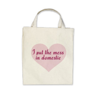 I put the MESS in Domestic Bag