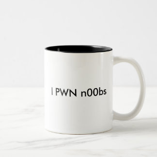 I PWN n00bs Two-Tone Coffee Mug
