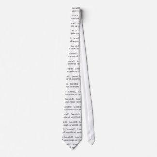 I.R.S t-shirt Tie