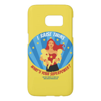 I Raise Twins. What's Your Super Power? Phone Case