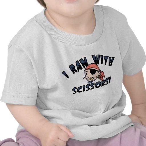 I Ran With Scissors Tee Shirts