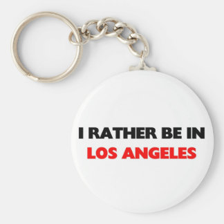 I rather be in los angeles key ring