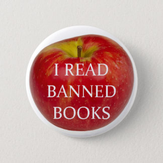 I Read Banned Books Apple Button